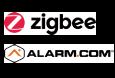 alarm.com, zigbee, vesta by climax