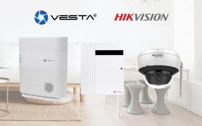 Integración entre el Sistema de Alarma VESTA y Hikvision